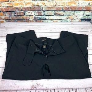 Lane Bryant black capri pants size 20